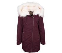 Mantel rot / dunkelrot