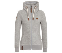Female Fleece Jacket Redefreiheit? II grau
