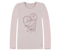 Langärmliges T-Shirt pink