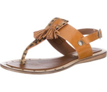 Gayton Tassels Sandaletten braun