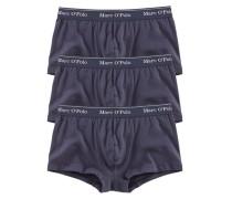 Hipster Pants (3 Stück) in hüfttiefer Passform blau