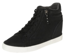 Sneaker 'Star Wedge' schwarz