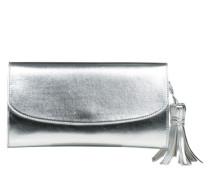 Clutch im Metallic-Look 'Taly' silber