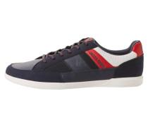 Sneaker marine / weiß / rot
