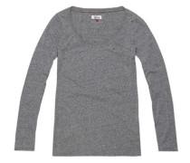 Hilfiger Denim Langarmshirt »Thdw CN Knit L/S 17« grau / graumeliert