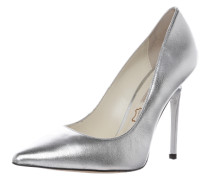 High Heel Pumps silber