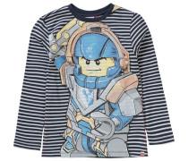 Langarmshirt 'nexo Knights Teo' blau