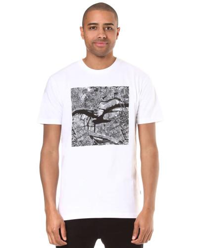 'Elbmöwe' T-Shirt weiß