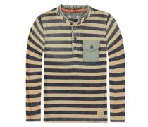 T-Shirt langärmlig Ringel mischfarben