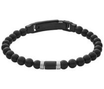 Armband 'vinther Skjm0151998' schwarz / silber