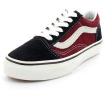 Sneaker Old Skool Textil blau / rot
