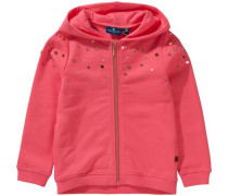 Jacke 'sweet hoodie jacket' pink