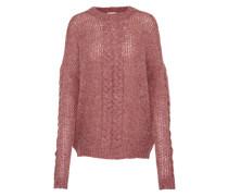 Oversize Pullover 'visaga Knit' rosa