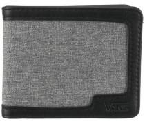 Geldbörse grau / schwarz