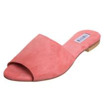 Pantolette 'Jette' rosa