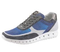 Sneaker blau / greige