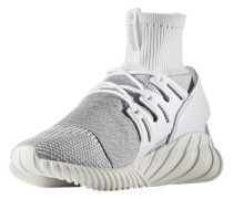 Sneaker 'tubular Doom PK' grau / weiß