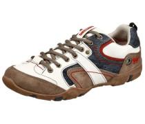 Freizeit Schuhe blue denim / braun / naturweiß