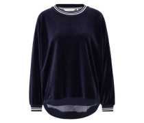 Sweatshirt 'nicola' blau