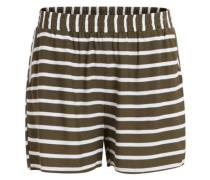 Jersey-Shorts 'Vibecca' grün