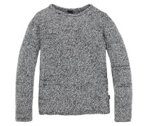 Pullover für Mädchen grau