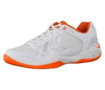 Handballschuhe 'Omnicourt Z4' orange / weiß
