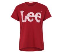 T-Shirt 'Logo Tee' rot
