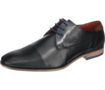 Business Schuhe dunkelblau / rot / schwarz