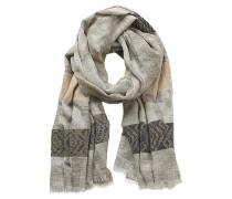 Schal in harmonischem Farbmix beige / grau