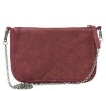 Umhänge-Tasche karminrot