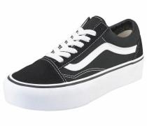 Sneaker 'Old Skool Platform' schwarz / weiß