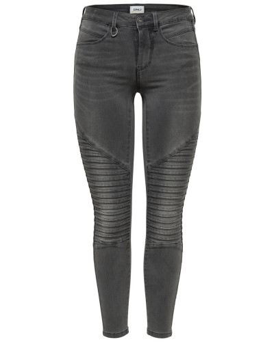 Royal Reg Biker Skinny Fit Jeans grey denim