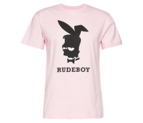 T-Shirt 'Rude Tee' rosa