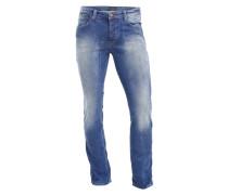 Straight Leg Jeans 'Dylan' blau