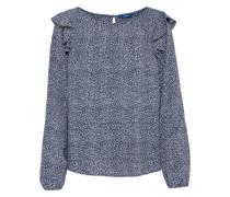 Bluse 'feminine flounce blouse'
