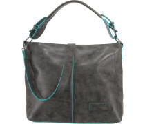 'Kira Silver' Handtasche blau