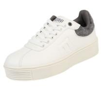Sneaker 'Templo' grau / weiß