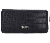 Donna Geldbörse 20 cm schwarz