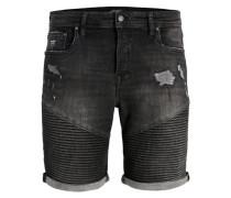 Jeansshorts 'ryder JOS 466' black denim