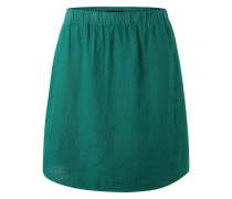 Leinen-Rock smaragd