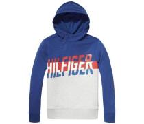 Sweatshirt 'split Panel HD HWK L/s' blau
