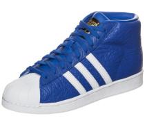 Superstar Pro Model Animal Sneaker blau / weiß