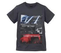 H.i.s T-Shirt mit Fotodruck für Jungen grau