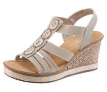 Sandalette hellgrau