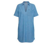 Kleid 'indigo Shirt Dress' blue denim