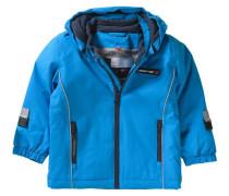 Baby Winterjacke Jaxon für Jungen blau / dunkelblau
