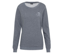 Sweatshirt 'uflt-Willa' grau