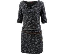 'Tanya' Jerseykleid Damen schwarz