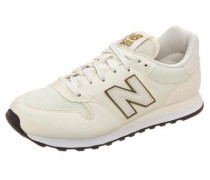 Sneaker 'gw500' creme / gold