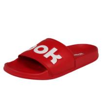Badelatschen 'Slid' rot / weiß